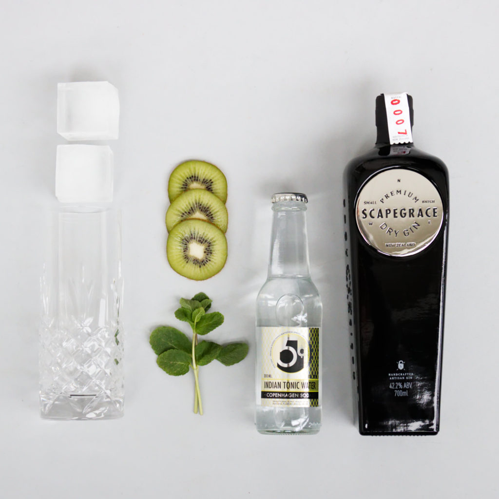 Decontructed Scapegrace Gin and Tonic